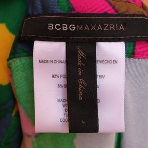 BCBGMaxAzria Tops - BCBG MaxAzria | abstract colorful button down top